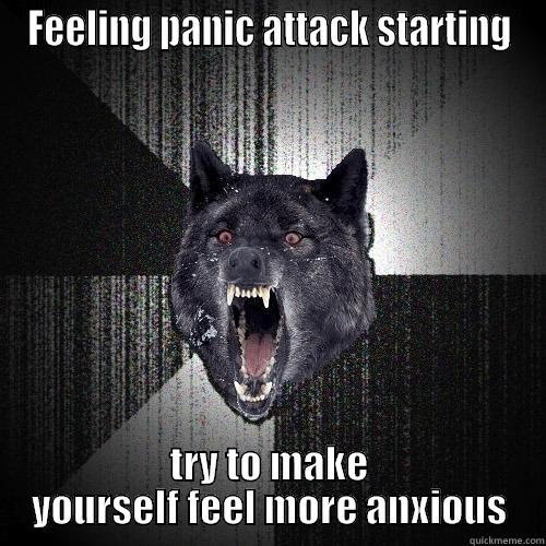 panic attack anxiety attack insanity wolf meme